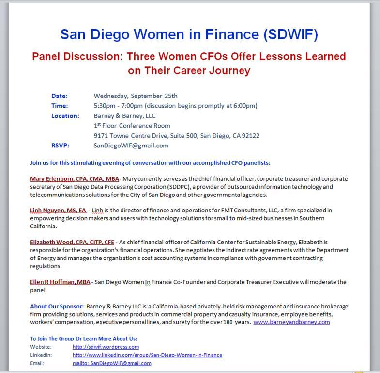 SDWomenInFinance