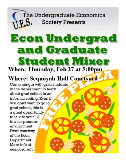 GRad and Undergrad mixer