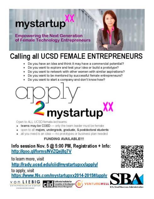 mystartupXX flyer