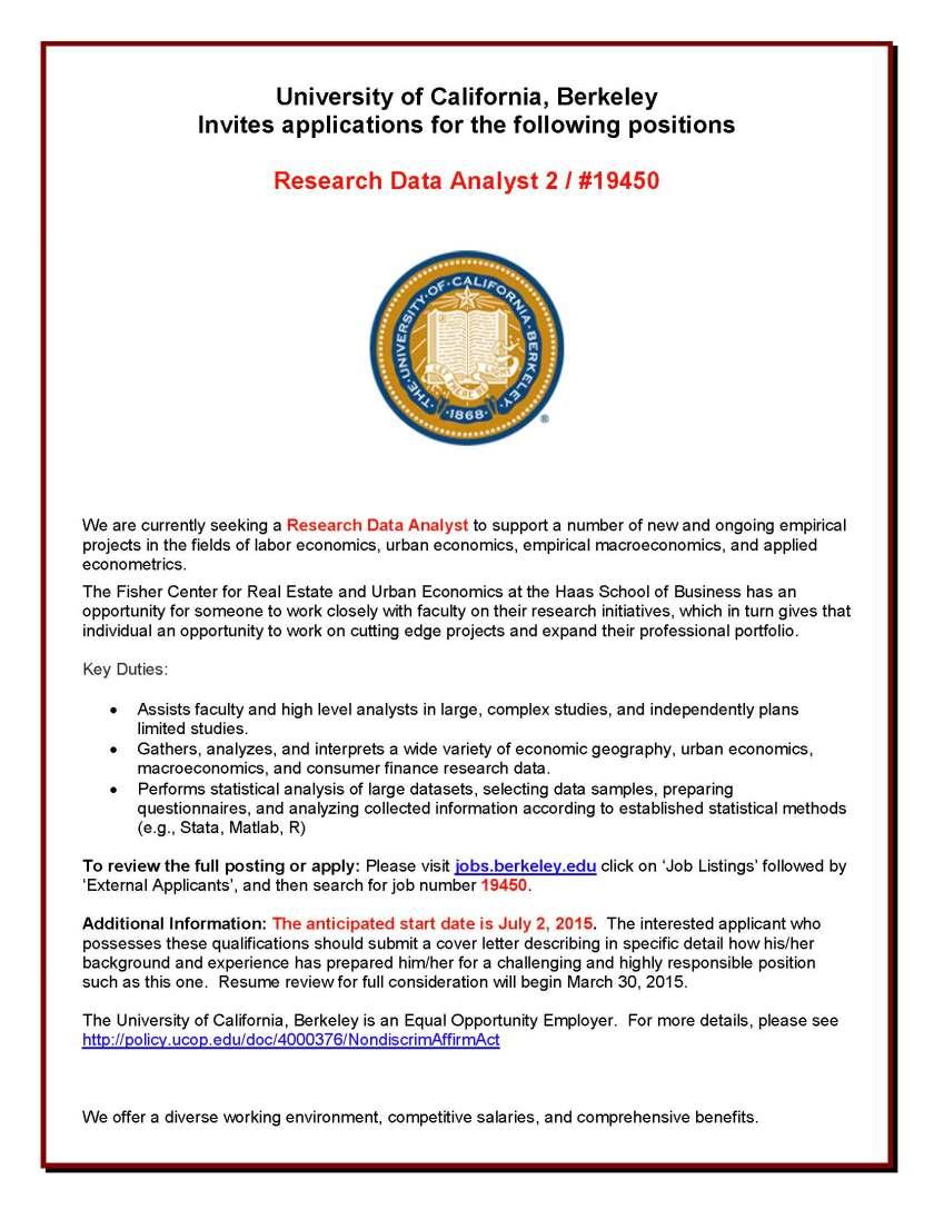 19450 Res Data Analyst Flyer