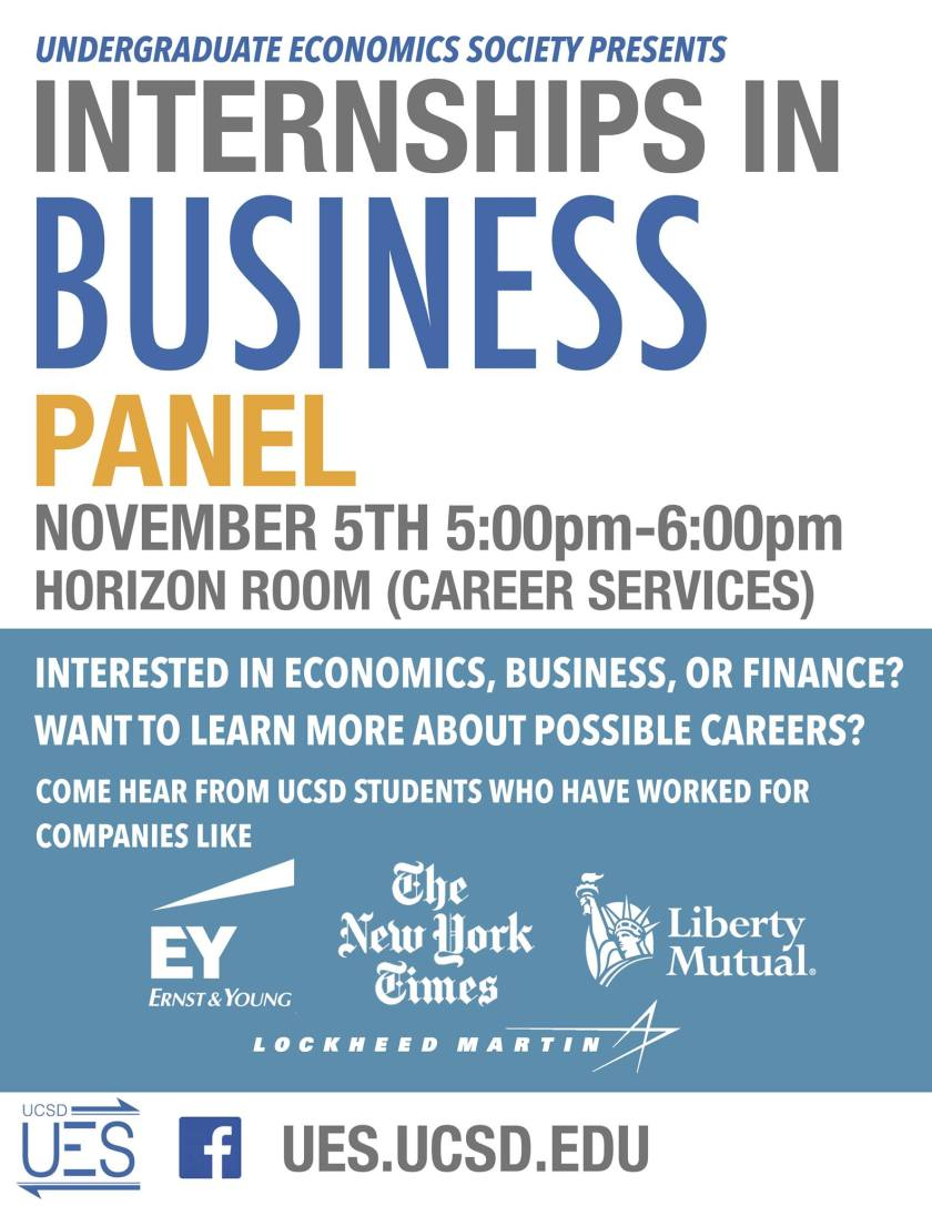 Internships in Business Panel
