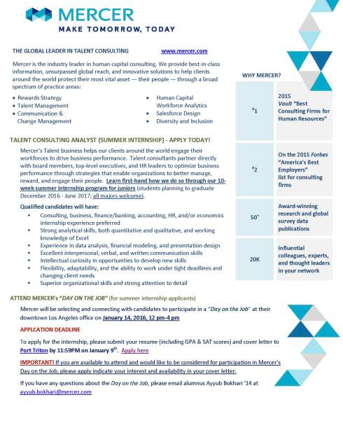 Recruiting Flyer_DOJInternship2016_UCSD