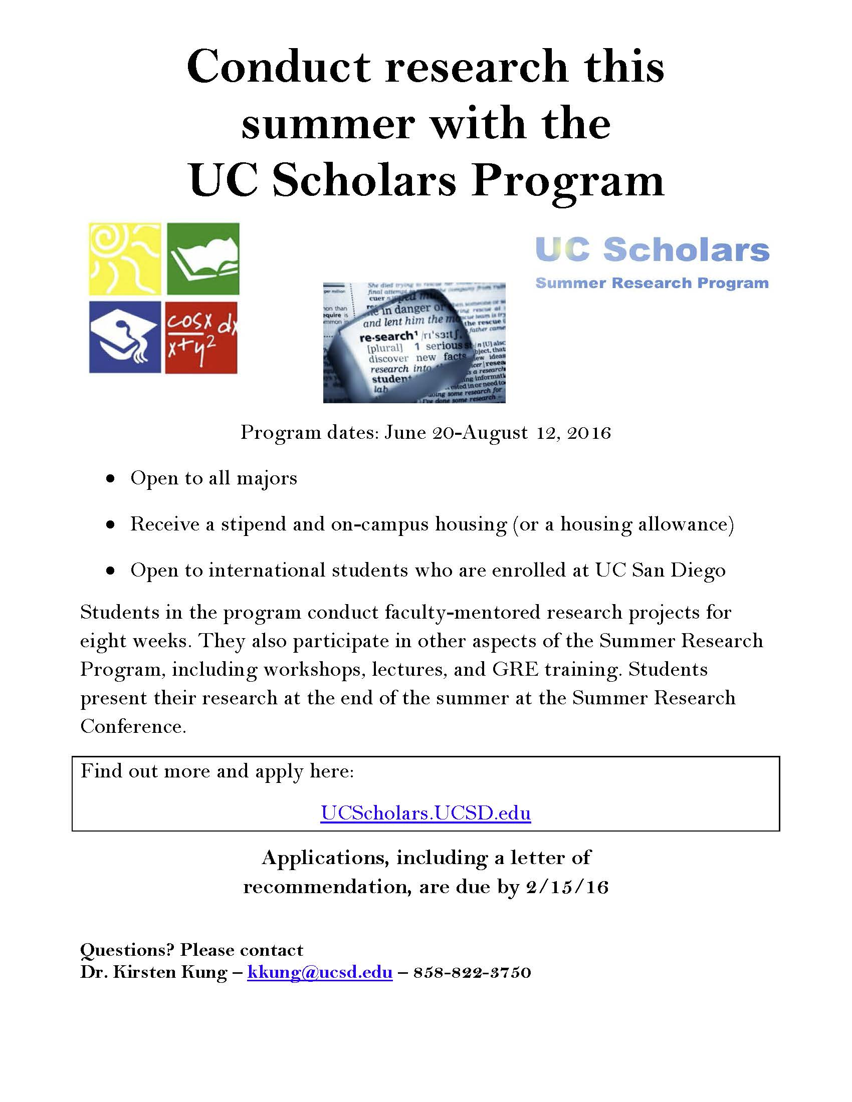 Conduct research this summer with the uc scholars program econ ug blog altavistaventures Choice Image