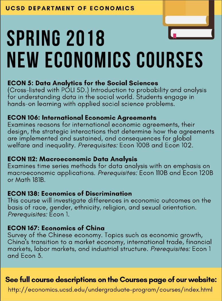 ECOn courses